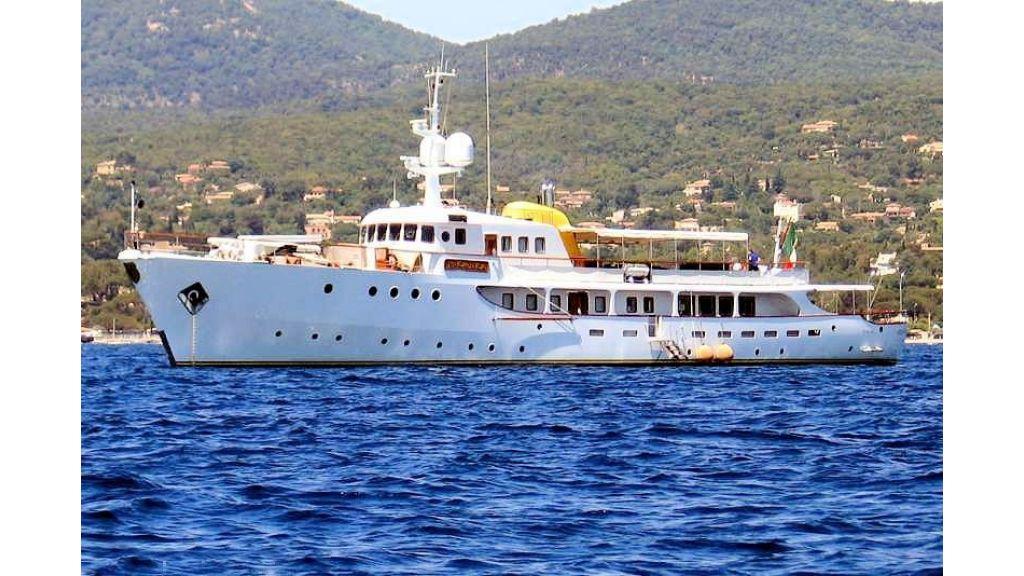 Sophisticated luxury yacht (6)