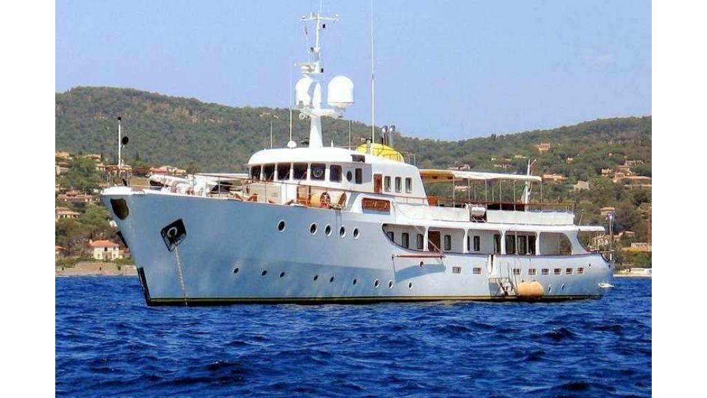 Sophisticated luxury yacht (7)