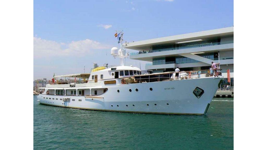 Sophisticated luxury yacht (9)
