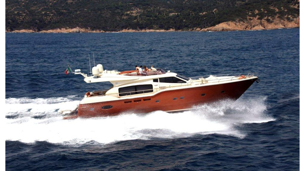 Ferretti Altura Motor Yacht master
