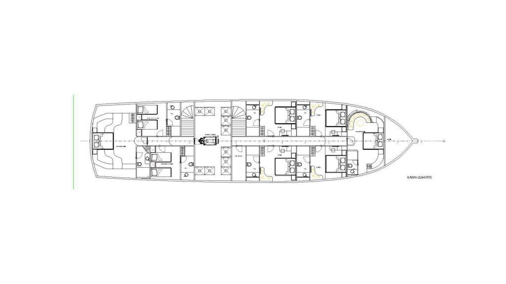 Queen Atlantis motor sailor (2)
