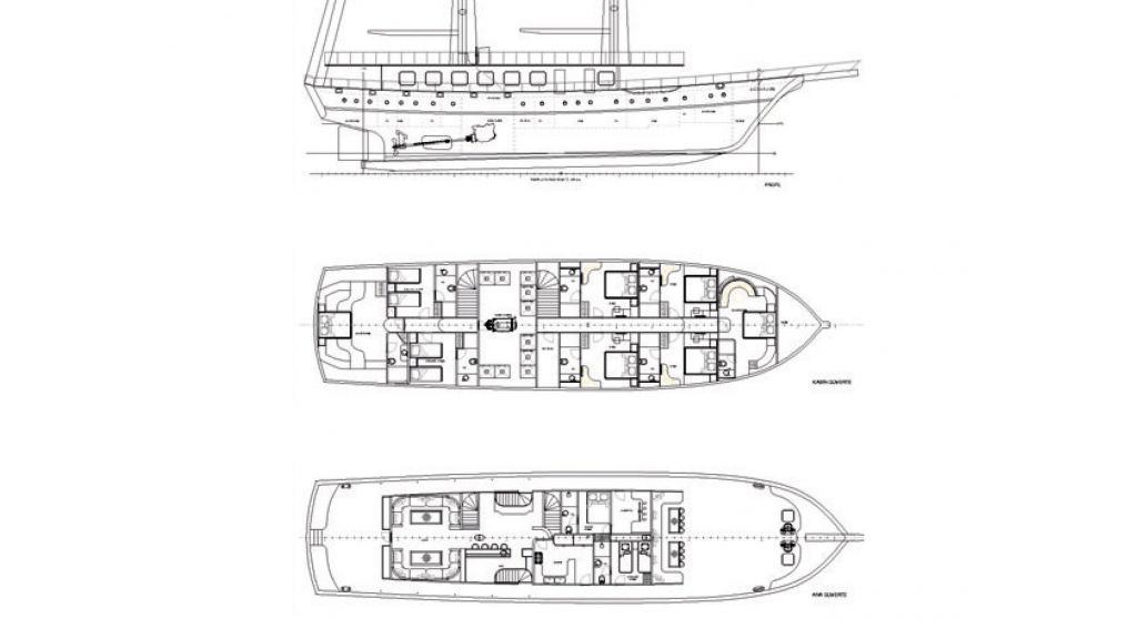 Queen Atlantis motor sailor (23)