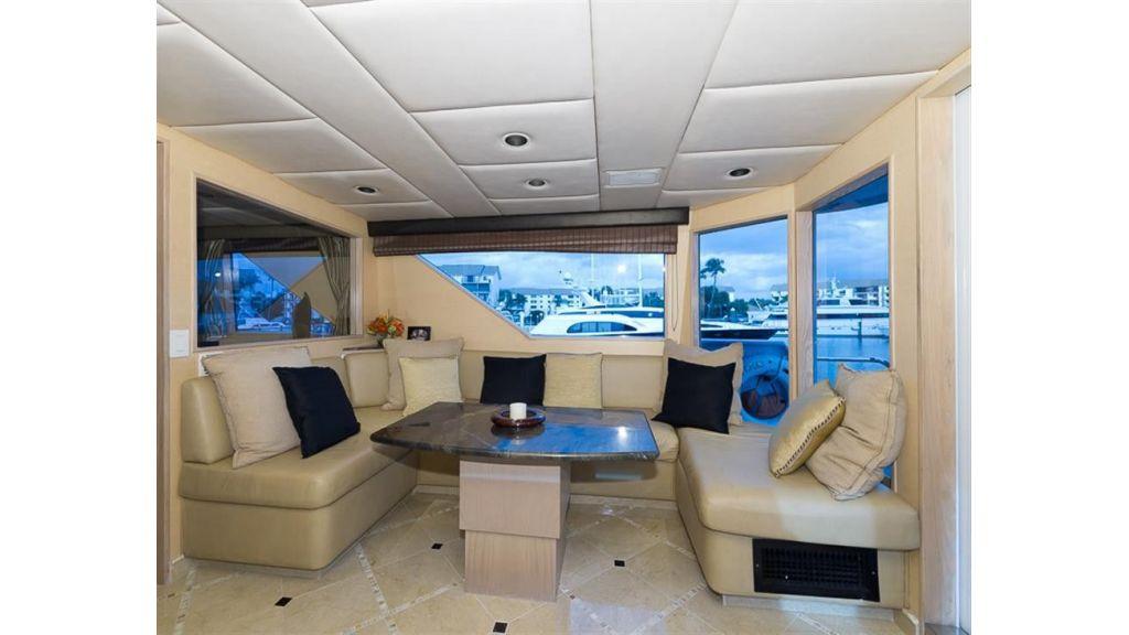 broward Enclosed Air Conditioned Aft Deck