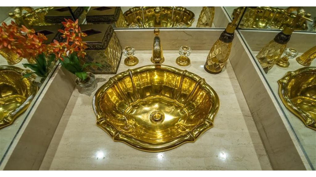 broward Gold Plated Sink