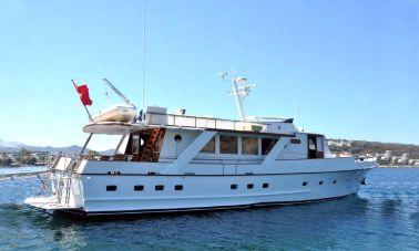 1975 Built Steel Motor Yacht master