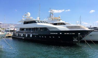 37m Steel Aluminium Motor Yacht 2019 (1)