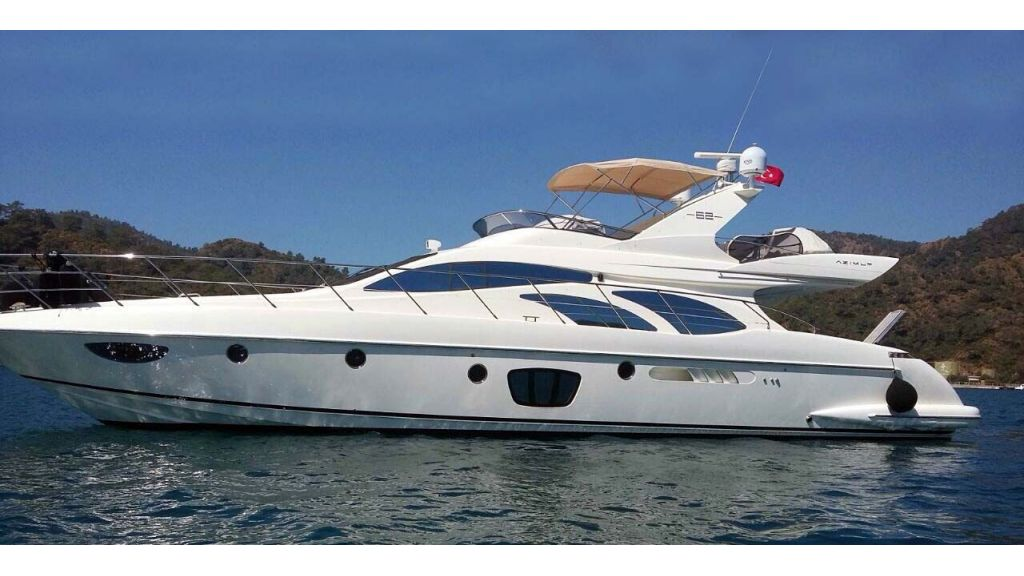 Azimut 62 motor yacht for sale master
