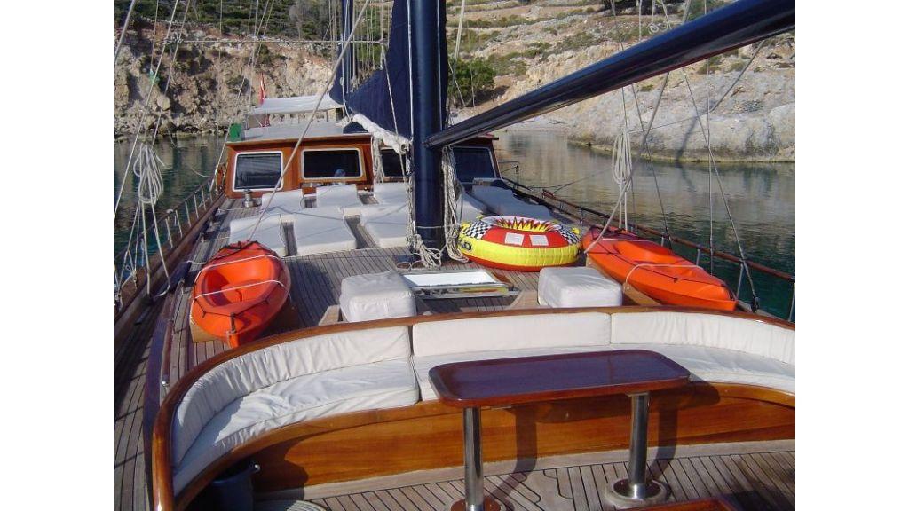 Kaptan Sevket Deck view