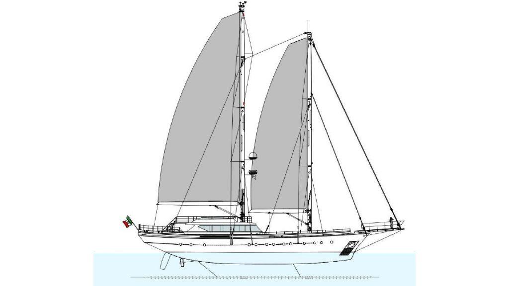 128 ft Castagnola Schooner (2)