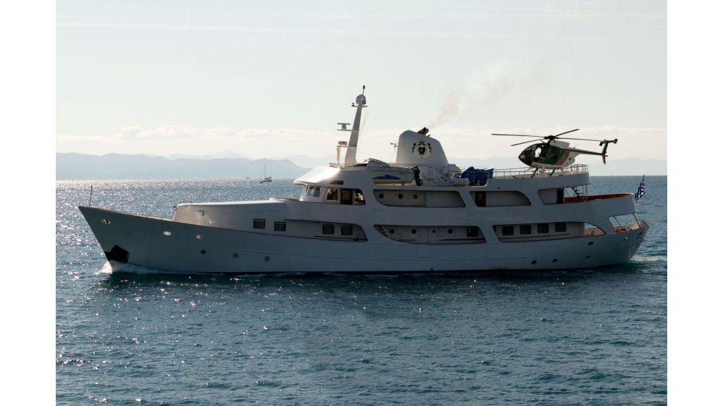 Classic Style Motoryacht (3)