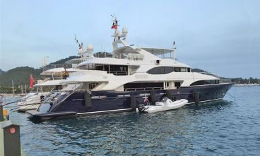 Benetti 44m For Sale master