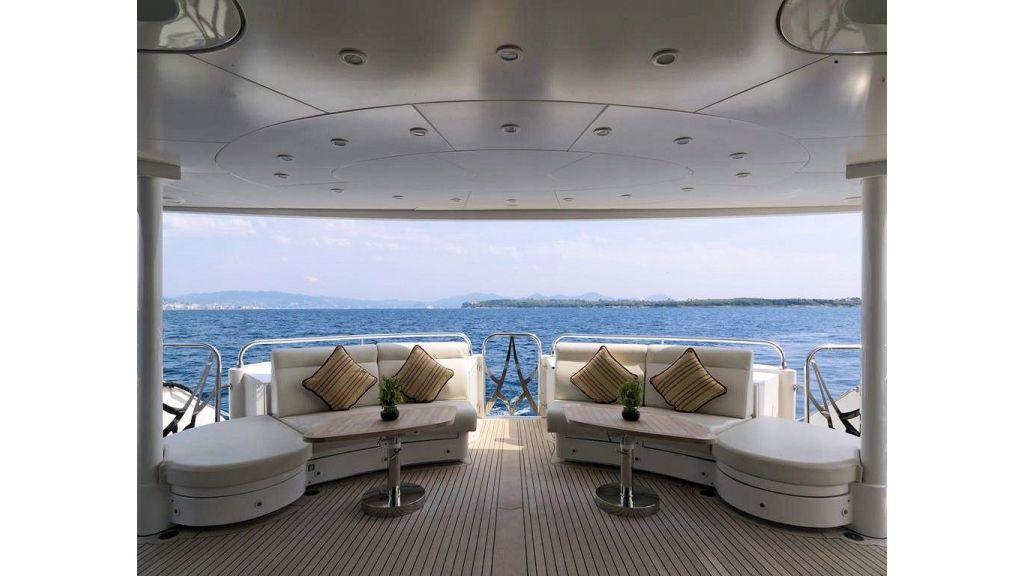 Motor Yacht Aktobe Main Deck Aft
