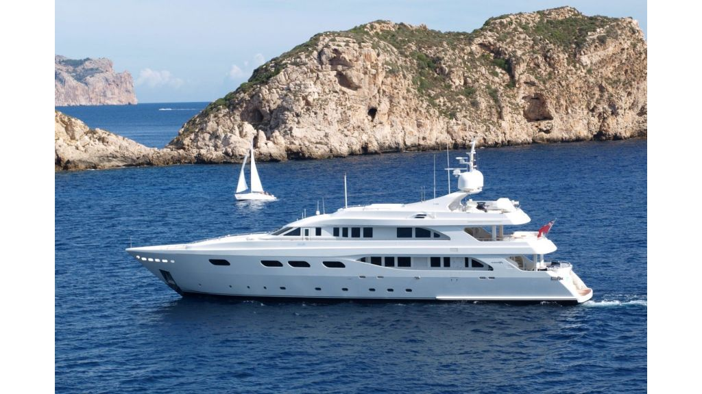 Motor Yacht Aktobe Profile-master