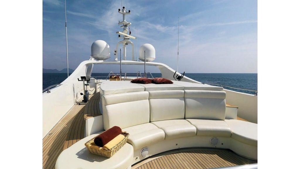 Motor Yacht Aktobe SunDeck