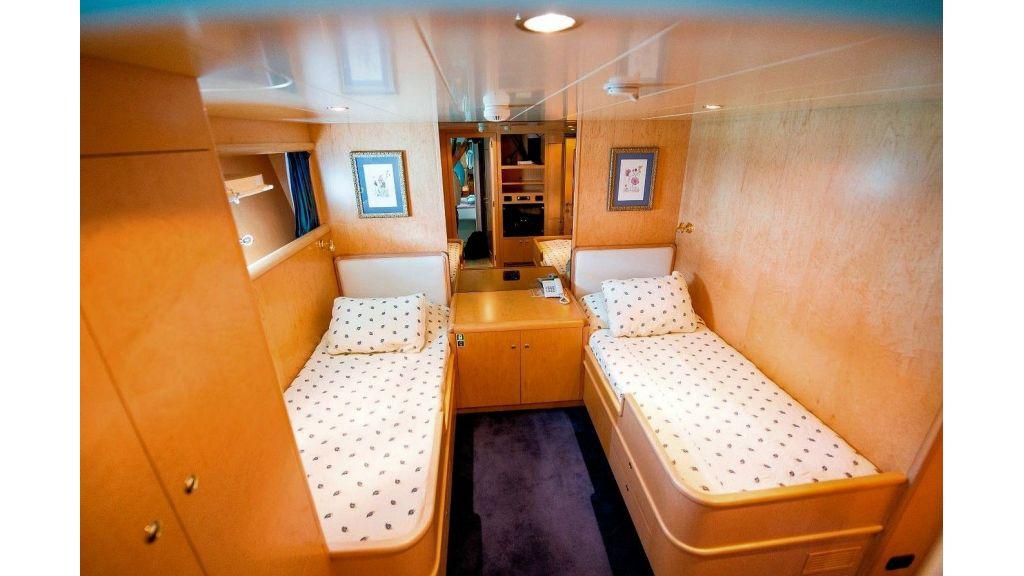 Motor Yacht Aktobe Twin Room