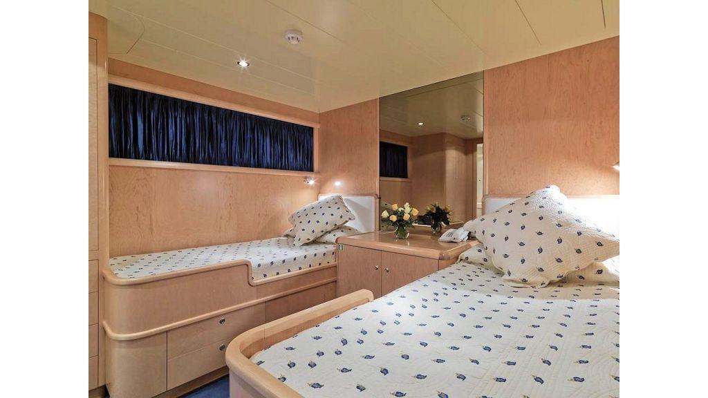 Motor Yacht Aktobe Twin StateRoom