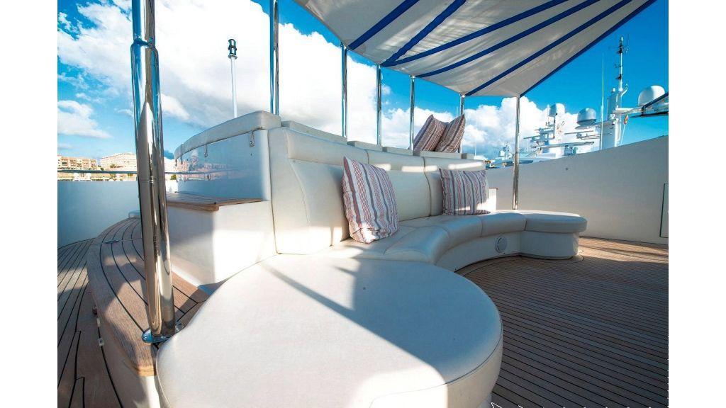 Motor Yacht Aktobe Upper Deck 2
