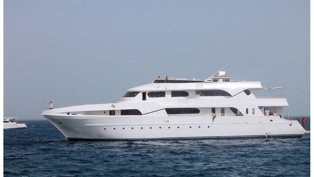 Motor Yacht Diamond Safaga - master