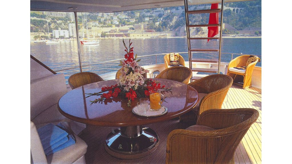 Motor Yacht Intuition Lady Main Deck