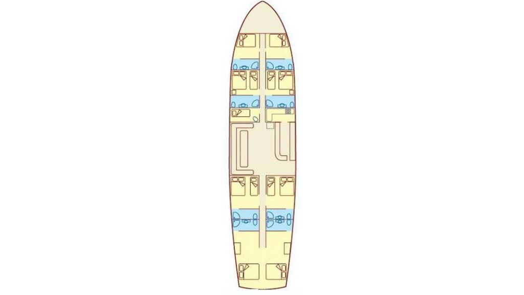 Blue Cruise Layout