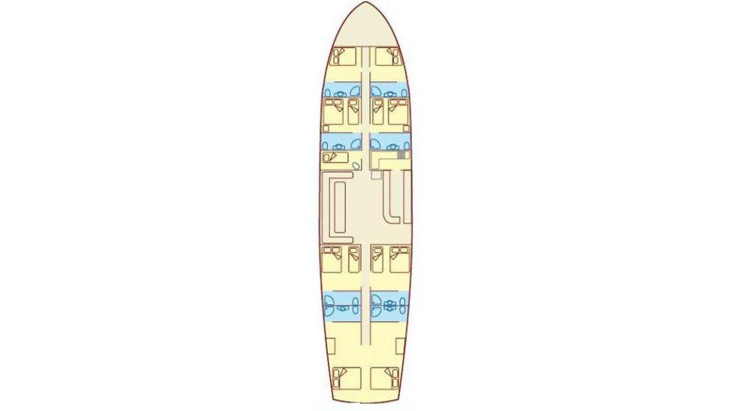 Blue Cruise Layout