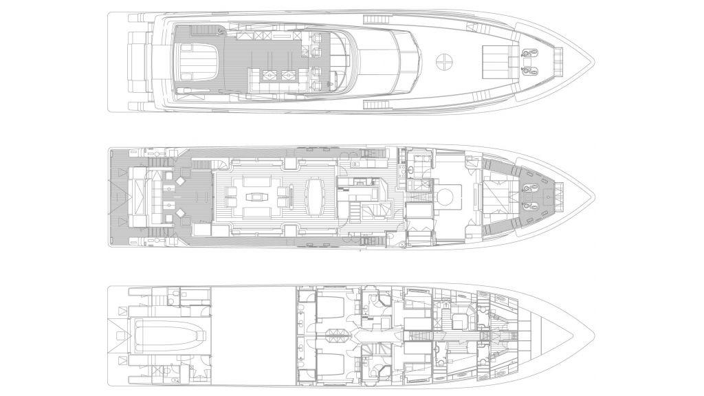 Planning MotorYacht Aliyoni,