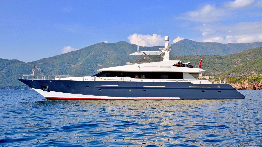 32m steel hull-motoryacht