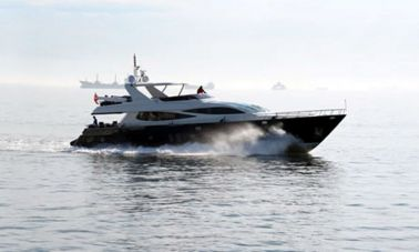 custom build motor yacht
