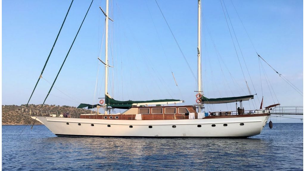 Steel Wooden Ketch Gulet (1) - master