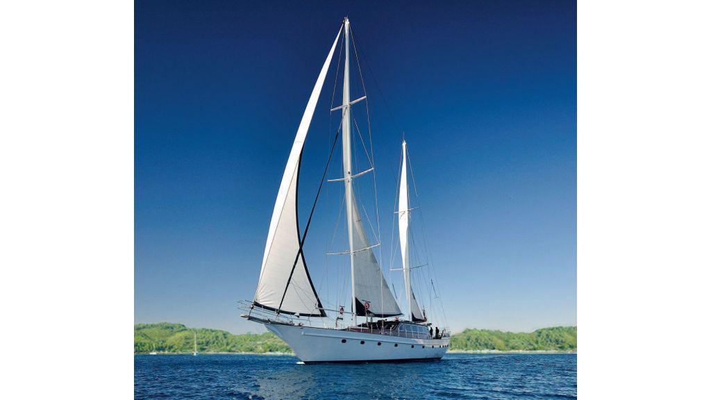 Steel Wooden Ketch Gulet (1) - sailing