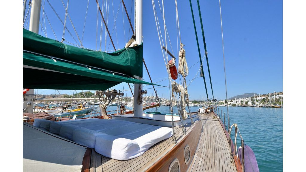 Steel Wooden Ketch Gulet (2)