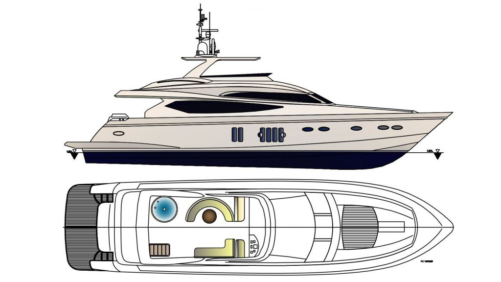 Epoxy Laminated Motoryacht (13)