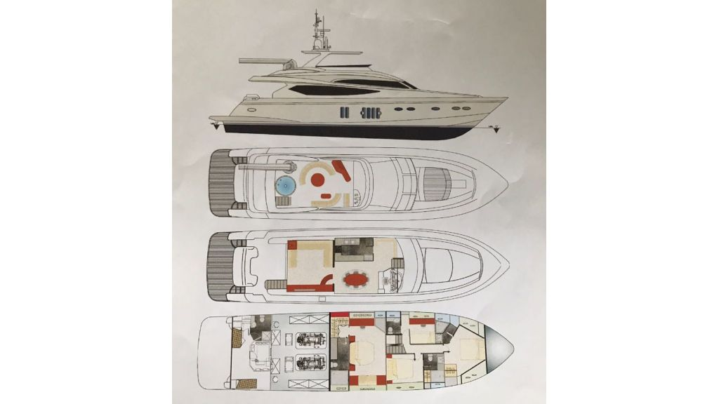Epoxy Laminated Motoryacht (47)