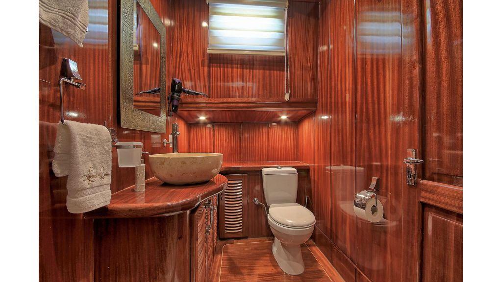 Lycian Queen lavatory