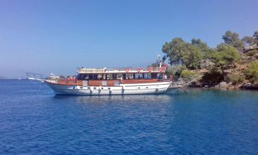 Bodrum Built Daily Cruise Gulet (10)