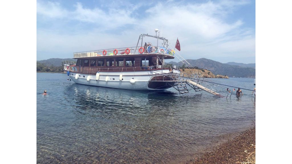 Bodrum Built Daily Cruise Gulet (2)