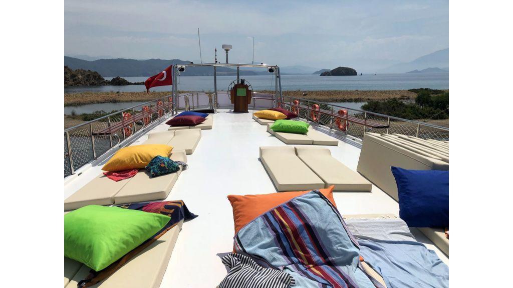 Bodrum Built Daily Cruise Gulet (9)