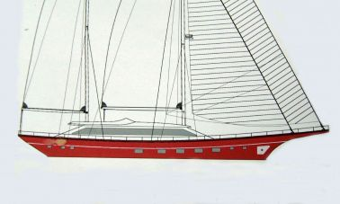 Epoxy Laminated British Schooner