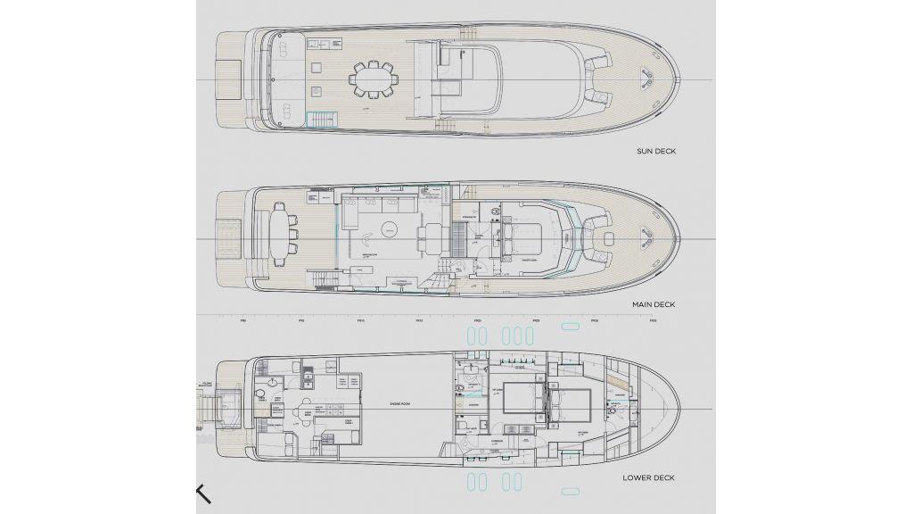 Trawler Style Motor Yacht (45)
