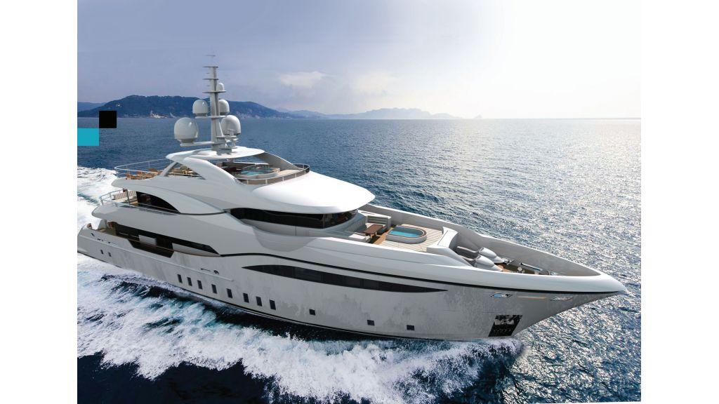 Contemporary Motor Yacht (2)