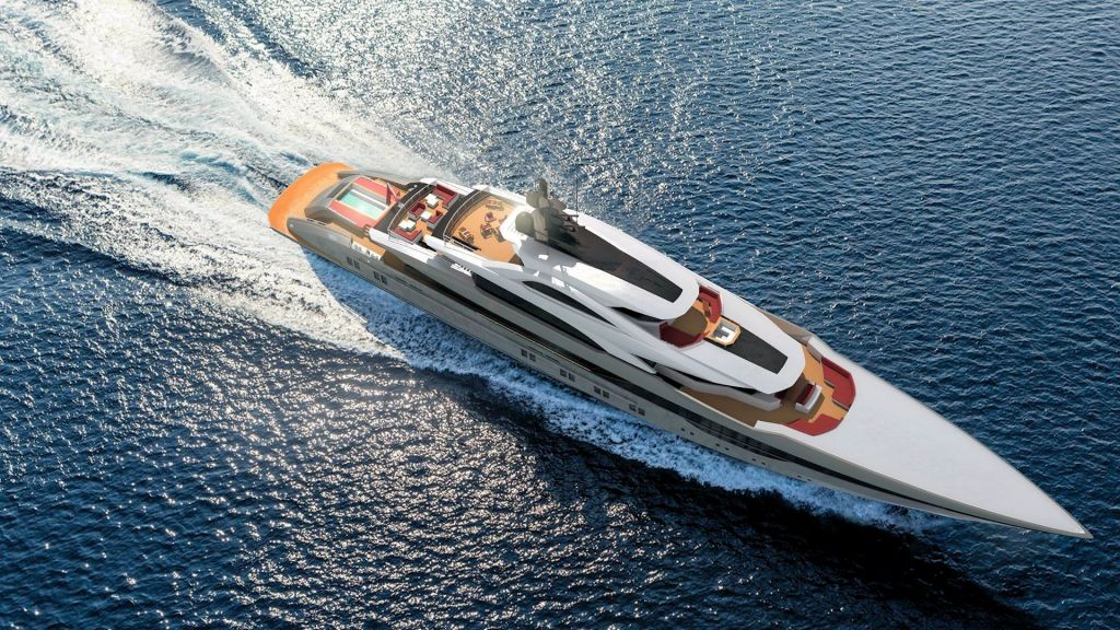 Ocean Going Full Displacement Mega Yacht (10)