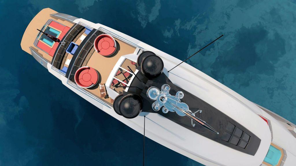 Ocean Going Full Displacement Mega Yacht (12)