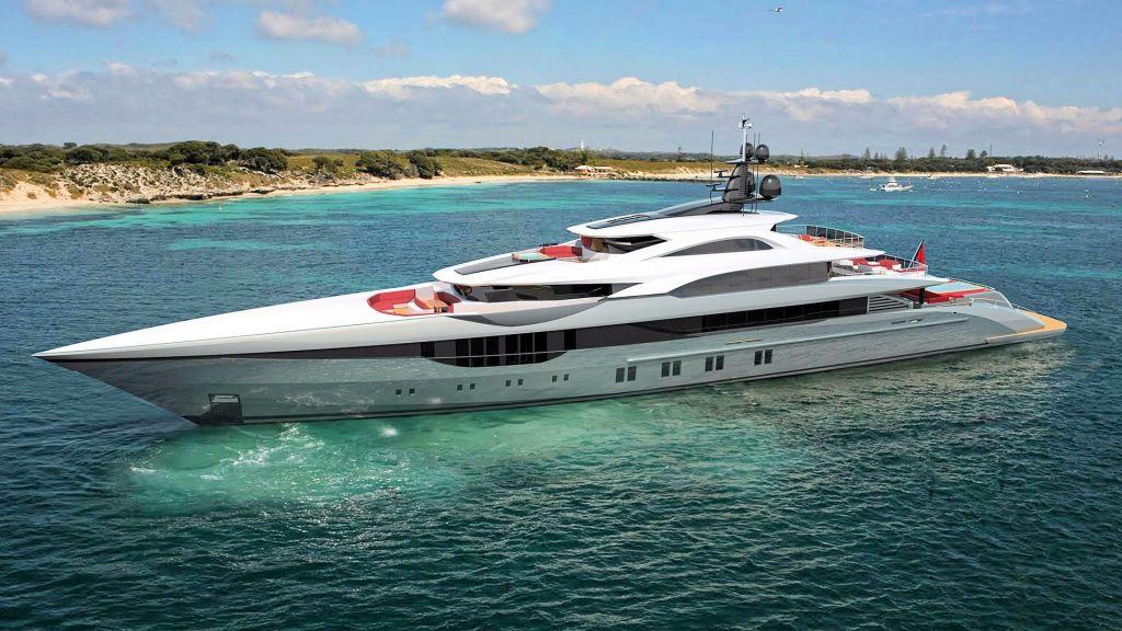 Ocean Going Full Displacement Mega Yacht (14)