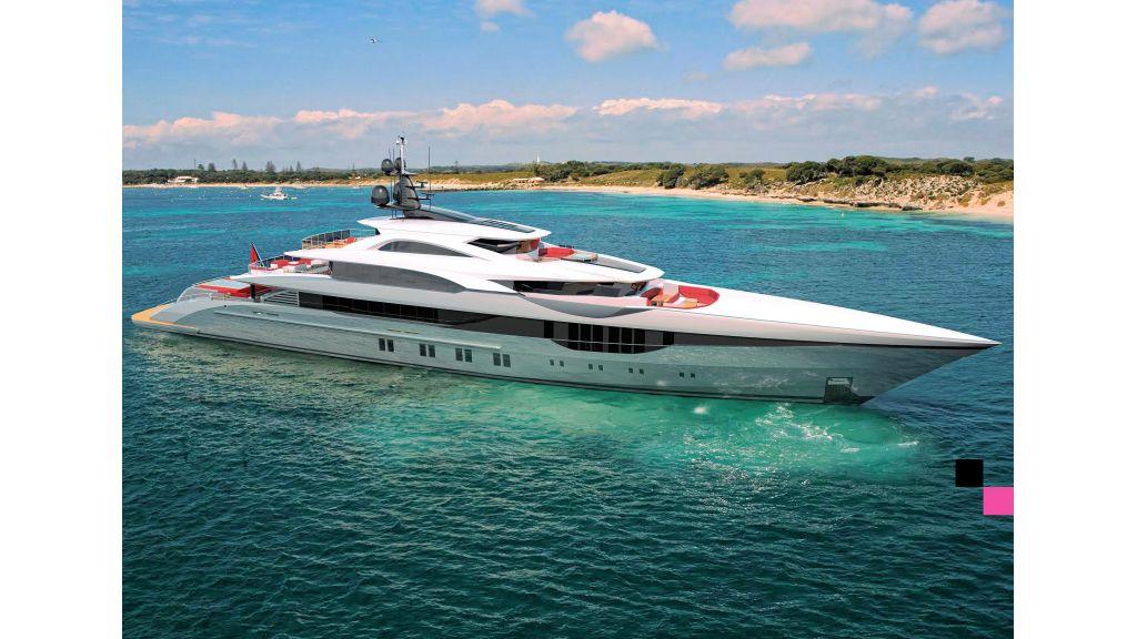 Ocean Going Full Displacement Mega Yacht (19)