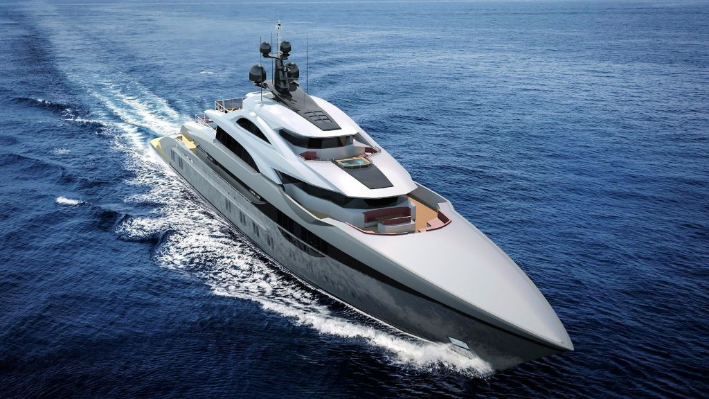 Ocean Going Full Displacement Mega Yacht (2)