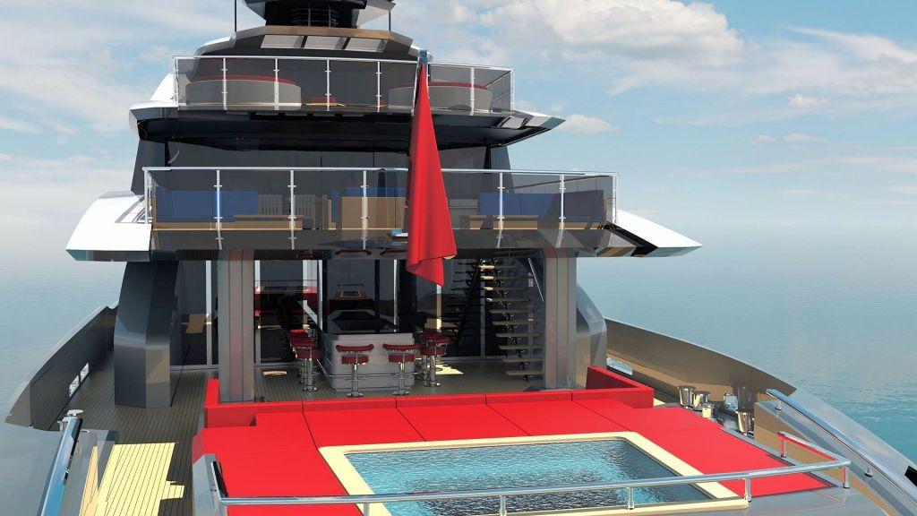 Ocean Going Full Displacement Mega Yacht (21)