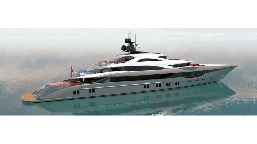 Ocean Going Full Displacement Mega Yacht (3) - master