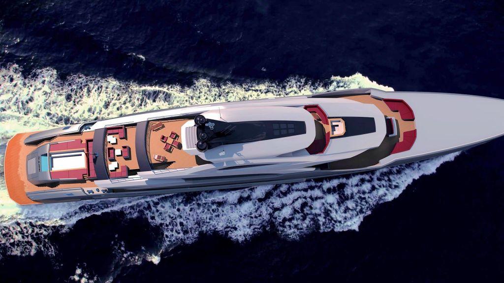 Ocean Going Full Displacement Mega Yacht (4)