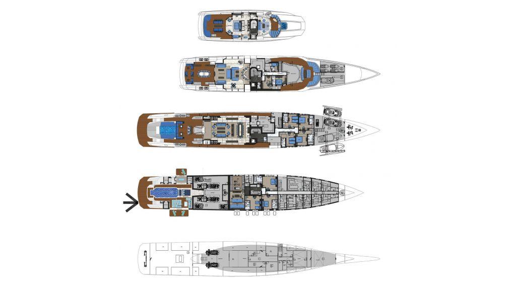 Ocean Going Full Displacement Mega Yacht (61)