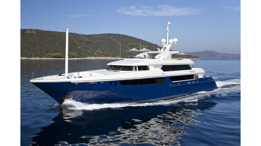 Yacht MARY JEAN II presented by YPI